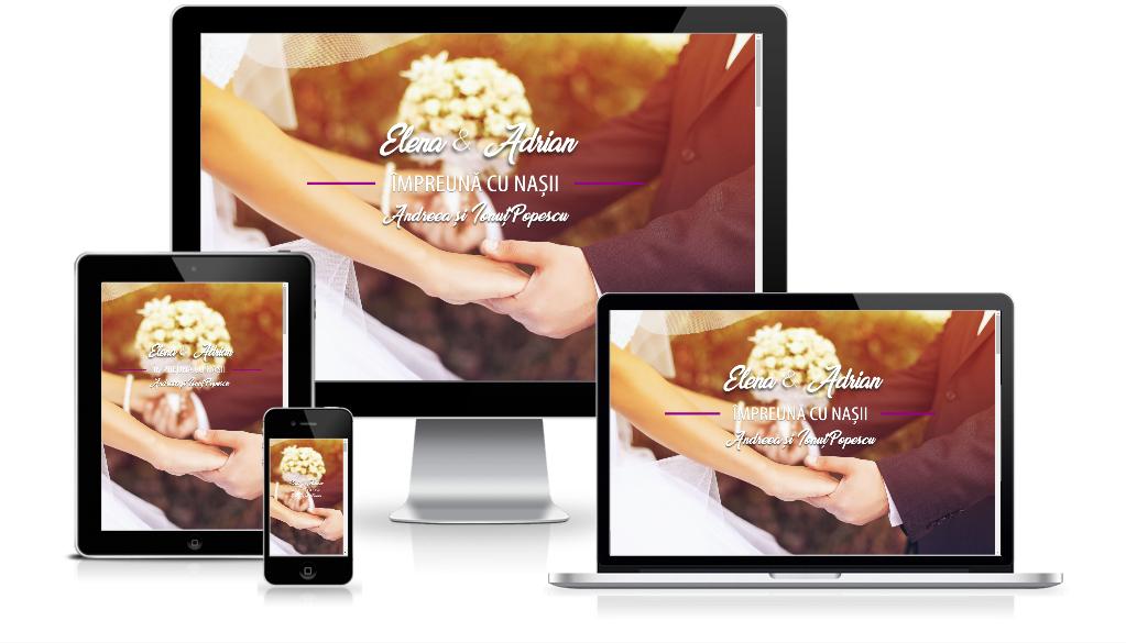 invitatii nunta digitale