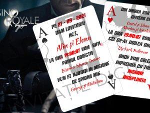 invitatie digitala james bond casino royale
